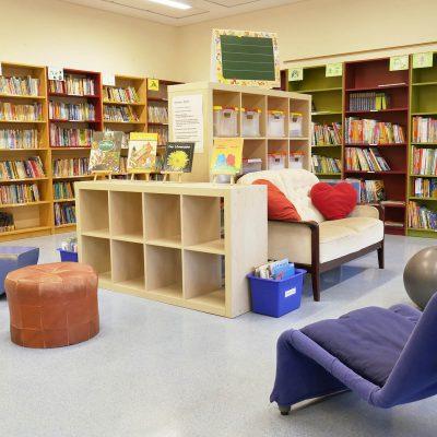 Bücherei der Schule an der Viktoriastraße